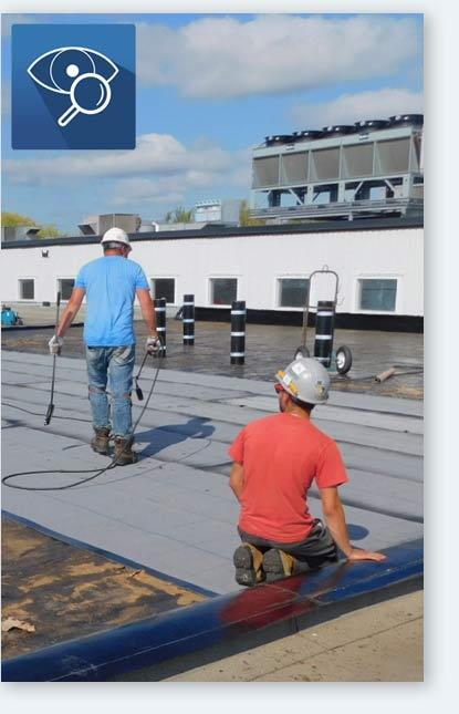 Inspection et suivi de chantier