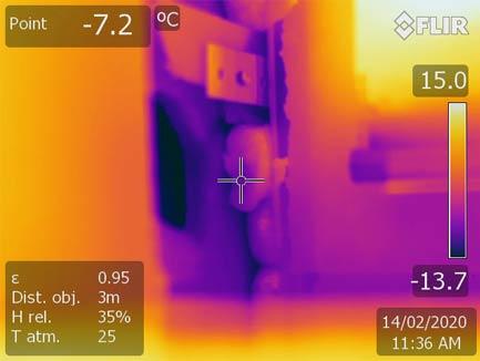 Thermographie électrique et mécanique